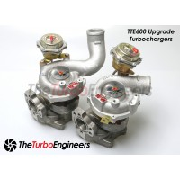 TTE600 Turbo Chargers for Audi B5 S4/RS4 2000-2002 2.7T and 2000-2004 C5 A6 2.7T W/ EXHAUST PORTING OPTION
