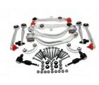 Febi Bilstein 12-Piece Control Arm Kit for C5 Audi A6 Sedan with Steel Uprights