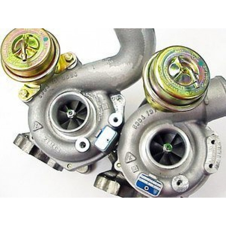 Twin Turbo Kit For Audi Rs4: Audi RS4 B5 Borg Warner K04 Turbo Chargers New Limited